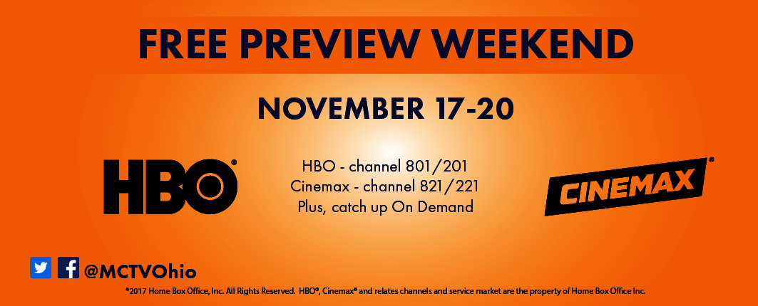 HBO Cinemax Free Preview